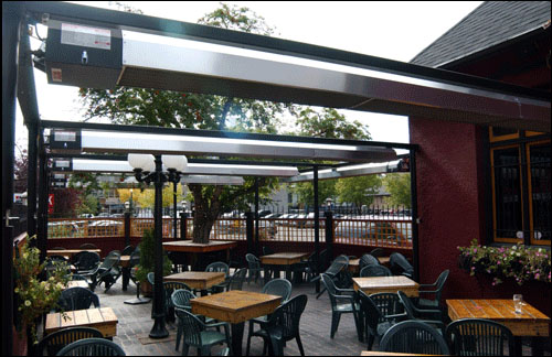 Patio Heater For Bar Amp Restaurants Calcana