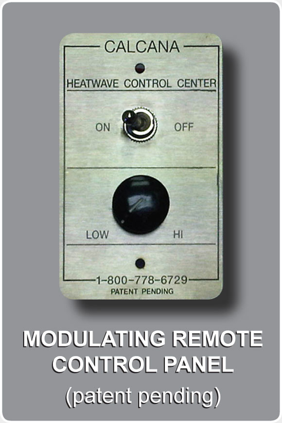 Patio Heater Modulating Romote Control Panel